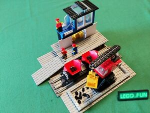 LEGO® 12V 7838 Verladestation +OBA /Freight loading depot+instruction Train Rare