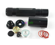 Waterproof Adjustable Focusable Housing Case for Laser Pointer Hunting DIY Kit