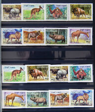VIETNAM 1981  S#1154-1161  +IMPERF.  MNG VF CatVal $15 ANIMALS