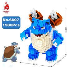 CHAKRA Pokemon Blastoise Pocket Monster Diamond Mini Building Nano Blocks Toy