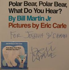 Eric Carle engl book Buch Original signed signiert autograph Signatur Autogramm