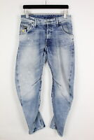 G-STAR RAW ARC 3D LOOSE TAPERED Men's W31/L32 Ripped Painted Jeans 34878-GS