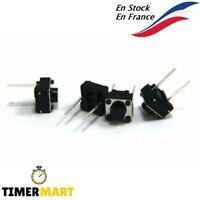Interrupteur Tactile 6 mm x 6 mm x 5 mm à 2 broches TimerMart