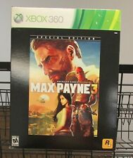 Max Payne 3 Special Edition (Xbox 360) Brand New / Fast Shipping