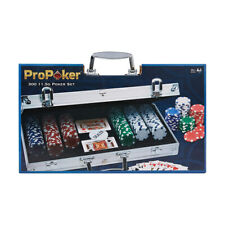 Pro Casino Poker Set 300 Chips with Carry Case