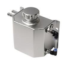 Aluminum Oil Catch Radiator Coolant Overflow Bottle Recovery Tank Reservoir 1L