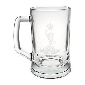 Royal Corps of Signals Heeled Glass Tankard