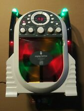 Kids Portable Karaoke Machine System Set Singing Built-In Light Show LED NO MIC