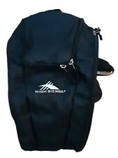 High Sierra Black Trapezoid Boot Bag Skiing Snowboarding  NWT
