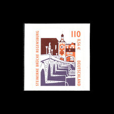 Germany 2001 - Sightseeings - Self-adhesive Architecture (Booklet Stamp) - MNH