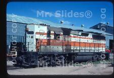 Original Slide Mexico S-BC Sonora-Baja California White/Orange Paint GP40-2 2105