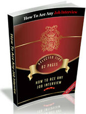 Get The Job Of Your Dreams - Learn Secrets On How To Ace Any Job Interview  (CD)