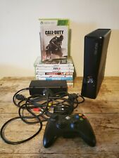 XBOX 360 SLIM 4GB CONSOLE 10 Games Bundle Wireless Controller VGC Tested