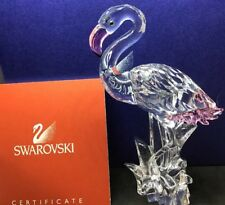 Beautiful Swarovski Crystal Flamingo 'Feathered Friends' Boxed, COA #289733