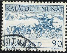 Greenland Polar Dog Sled stamp 1972 #81