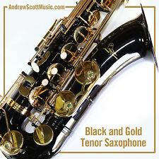 Tenor Saxophone, Masterpiece - Black - New  in Case  12 Month Warranty