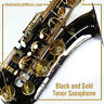 Tenor Saxophone, Masterpiece - Black - New  in Case