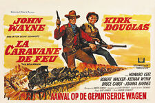 The War Wagon (1967) John Wayne movie poster print
