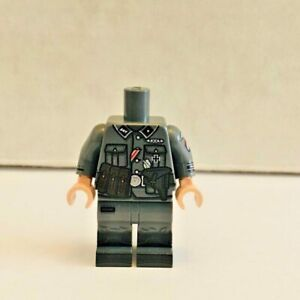 TheMinifigCo.℠ Dutch Officer Body - New - Foreign Legion