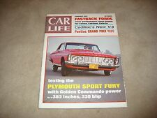 CAR LIFE MAGAZINE FEBRUARY 1963