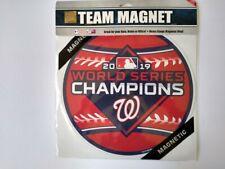 "Washington Nationals World Series Champs -  12"" Magnet"