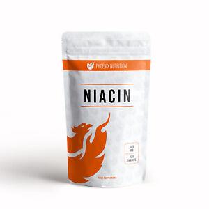 Niacin 100mg x 120 Tablets - Raise Good Cholesterol - Please read description