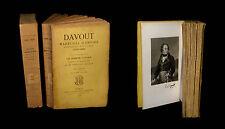 [EMPIRE NAPOLEON] VIGIER - Davout, maréchal d'Empire. EO. 2/2.
