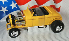 Ertl 7238 - 1932 FORD STREET ROD - yellow - 1:18