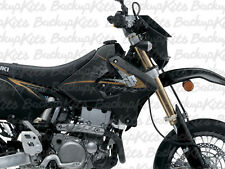 2013 DRZ400SM Graphic Kit Drz400s drz 400sm BLACK GOLD