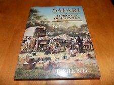SAFARI A Chronicle of Adventure Big-Game Hunting African Hunter Africa HC Book