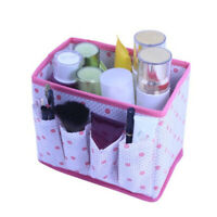 Foldable Makeup Brush Organizer Cosmetic Bedroom Household Useful Storage Box 6A