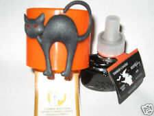 Yankee Candle BLACK CAT Electric Scent Plug & Witches Brew Refill HALLOWEEN NWT
