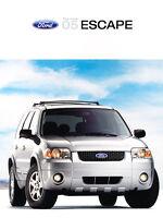 2005 Ford Escape 24-page Original Car Sales Brochure Catalog - Limited