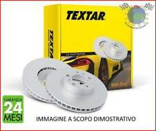 CUJ Dischi freno Textar Ant TOYOTA COROLLA Compact Benzina 1997>2002