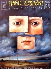 Rafal Olbinski, Recent Paintings 1991 - Polish Poster