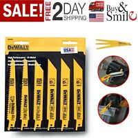 DeWALT Reciprocating Saw Blade DCS381 DWE304 6PC Craftsman Ryobi Black Decker US