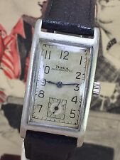 Rare Doxa Rectangular 1040s German Terrestrial Army /Military  WW2
