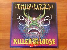 THIN LIZZY - 1980 Vinyl 45rpm 7-Single - KILLER ON THE LOOSE