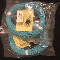 NIB - 39M (130ft) 50/125 LC-SC MM Fiber Optic Cable, 10G OM3