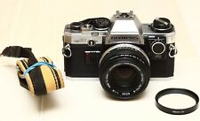 Olympus OM-10 35mm Film Camera with Manual Shutter Speed Dial - CLA'd!