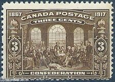 CANADA 1917 50th Anniv. of Canadian Confederation MNH VF $120