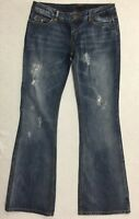 ONLY Limitless Denim Women's Jeans size 31 Blue Boot cut waist= 32 in. Stretch