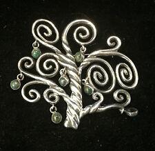 Vintage Sterling Silver Los Castillo Taxco Tree of Life Pin