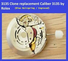 New ! Watch Movement Automatic CLONE Replacement Rolex cal 3135 Frequency 28800