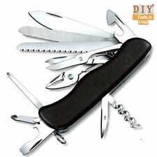 DIY Crafts® Multi Knife Swiss Folding Knife Survival Outdoor Camping Army Knifeb
