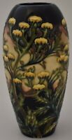 Moorcroft Pottery Tansy Vase Designed By Philip Gibson (Flowers / Floral)