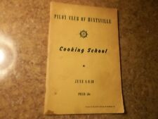 1950s Pilot Club Of Huntsville Alabama Cooking School Advertising Brochure