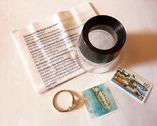 Standlupe Uhrmacherlupe Lese Arbeits Lupe Juwelierlupe Vergrößerungsglas 10fach