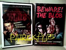 THE BLOB CRITERION COLLECTION + BEWARE THE BLOB  SIGILLATE  DVD R1  NO BLU RAY