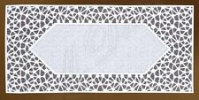 "Rectangular cream,lace table runner NEW 60cm x 130cm (24""x 51"") perfect gift"